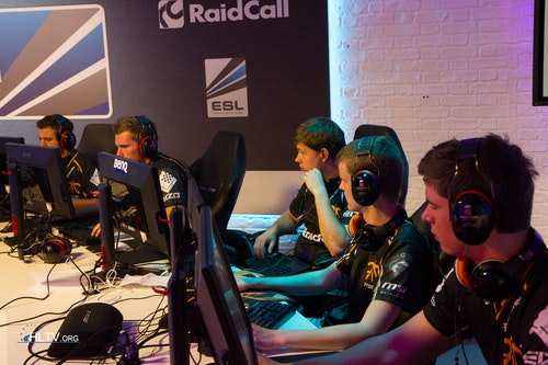 fnatic before their match against LDLC.com