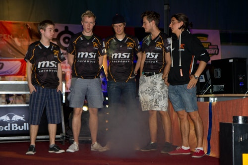 Second place to fnatic