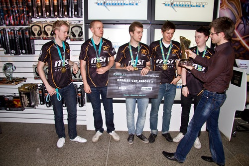 fnatic, winners of the tournament
