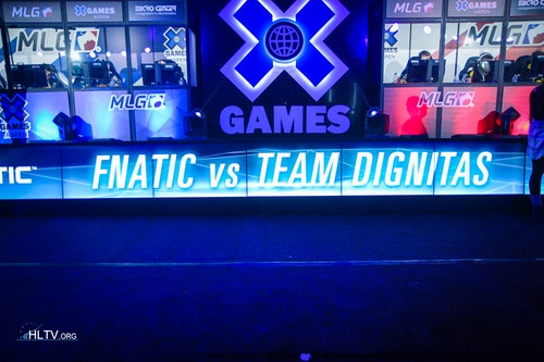 fnatic vs. dignitas for the bronze medals