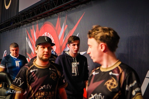 NiP and Titan after the grand final