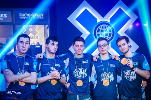 LDLC with their gold medals