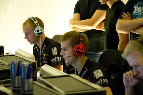 fnatic during the final