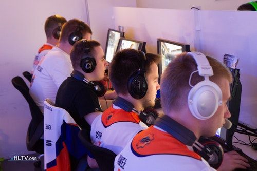 GF-Gaming squad during their match against Natus Vincere