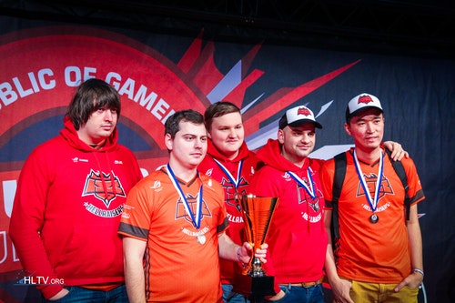 Hellraisers take 3rd place