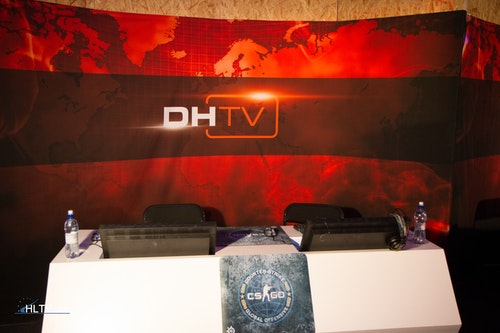 Second casters booth