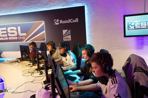 Copenhagen Wolves playing against VeryGames