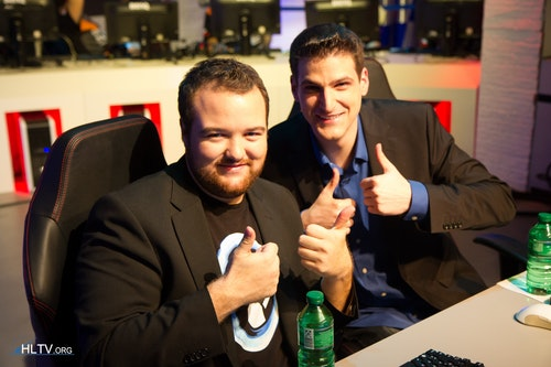 Anders Blume and Jason Kaplan casting for ESL TV